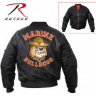 SZ 2XL Rothco Marine Bulldog MA-1 Flight Jacket  7183