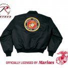 SZ 2XL Rothco Marine Emblem MA-1 Flight Jacket  7462