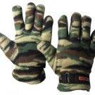 SZ MEDIUM WildWood® Soft Fleece Camo Gloves  SWWW112-M