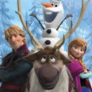 Disney's Frozen Out In The Cold Fleece Blankets   SWEDbFrozen