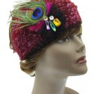 KNITTED HEAD BAND HAIR ACCESSORY  SWRUBDAH0069FSH