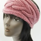 KNITTED HEAD BAND HAIR ACCESSORY  SWRUBBTH99281PNK