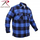 SZ Medium Rothco Extra Heavyweight Buffalo Plaid Sherpa-lined Flannel Shirts - 3739