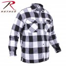 SZ 2X Large Rothco Extra Heavyweight Buffalo Plaid Sherpa-lined Flannel Shirts - 3740