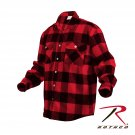 SZ 4X Large Rothco Extra Heavyweight Buffalo Plaid Flannel Shirts - 4740
