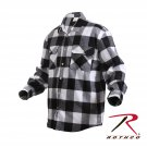SZ Small Rothco Extra Heavyweight Buffalo Plaid Flannel Shirts - 4739
