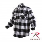 SZ Large Rothco Extra Heavyweight Buffalo Plaid Flannel Shirts - 4739