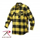SZ Large Rothco Extra Heavyweight Buffalo Plaid Flannel Shirts - 4649
