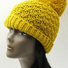 SWRUBDAH4087YEW - LARGE POM POM WINTER BEANIE HAT AND CAP
