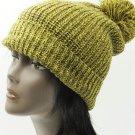 SWRUBDAH8144YEW - POM POM WINTER BEANIE HAT AND CAP