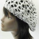 SWRUBDAH2210BKW- CROCHETED BERET HAT AND CAP