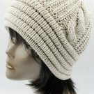 SWRUBBTH4212IVY- DOUBLE LAYERED WINTER BEANIE HAT AND CAP