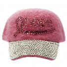 SWRUBKYH8179RDPNK - BREAST CANCER AWARENESS RIBBON HAT AND CAP