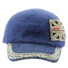 SWRUBKYH8146BLU - GREAT BRITAIN FLAG HIP HOP HAT AND CAP