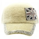 SWRUBKYH8146IVY - GREAT BRITAIN FLAG HIP HOP HAT AND CAP