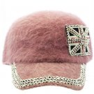 SWRUBKYH8146PNK - GREAT BRITAIN FLAG HIP HOP HAT AND CAP