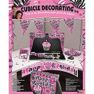 Pink Zebra Birthday Cubicle Decorating Kit (Each) - SPSBB-BB72498