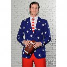 SZ 44 OppoSuits Stars and Stripes Suit for Men - SWWHC-OPOSUI-0023