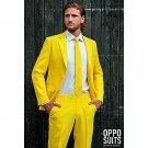 SZ 42 OppoSuits Yellow Fellow Suit for Men - SWWHC-OPOSUI-0026