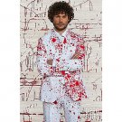 SZ 52 OppoSuits Halloween Splatter Suit for Men- SWWHC-OPOSUI-0036
