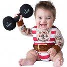 SZ 12-18 M Silly Strongman Costume Toddler- SWWHC-IC6063