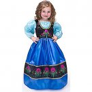SZ Medium Deluxe Scandinavian Princess Girl's Costume - SWWHC-LV10002