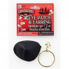 Pirate Earring and Eye Patch Set - SWWHC-7113
