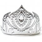 Silver Soft Icy Princess Crown - SWWHC-63339LV
