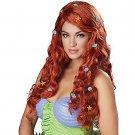Women's Mermaid Aquatic Fantasy Auburn Wig - SWWHC-70828CC