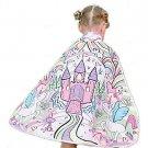 Reversible Color-A-Princess Cape Girl's Costume - SWWHC-83019CE