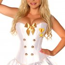 SZ LARGE SEXY NAVAL OFFICER COSTUME - SWYAN-DC-2022