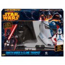 SZ Medium - Darth Vader and Clone Trooper Dual Kids Costume Box  - SWOFSTW-9937013