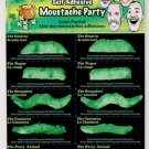 10 Self Adhesive St. Pat's Moustaches - SWWHC-69763F