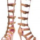 SIZE 6 Multi Strap Knee High Sandal Adult - SWWHC-LA420-ROMA