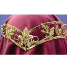 Deluxe Gold Leaf Headpiece - SWWHC-74131AGCS