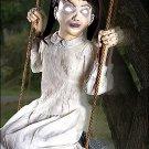 2 Ft Swinging Zombie Girl Animatronics - Decorations  SWSPRIT-01145333
