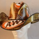 A&W Root Beer Cola Box Cowboy Hat   SW-ETSBBH