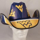 West Virginia Mountaineers Cowboy Hat Made Of Officially Licensed Materials   SW-ETSBBH