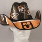 Missouri Tigers Cowboy Hat Made Of Officially Licensed Materials   SW-ETSBBH