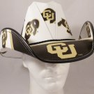 Colorado Buffaloes Cowboy Hat Made Of Officially Licensed Materials   SW-ETSBBH