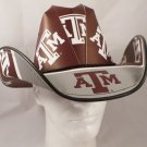 Texas A&M Aggies Cowboy Hat Made Of Officially Licensed Materials   SW-ETSBBH