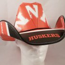 Nebraska Cornhuskers Cowboy Hat Made Of Officially Licensed Materials   SW-ETSBBH