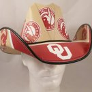 Oklahoma Sooners Cowboy Hat Made Of Officially Licensed Materials   SW-ETSBBH