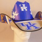 University of Kentucky Wildcats  Cowboy Hat Made Of Officially Licensed Materials   SW-ETSBBH