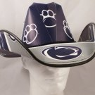 Penn State Nittany Lions  Cowboy Hat Made Of Officially Licensed Materials   SW-ETSBBH