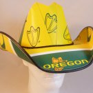 Oregon Ducks Cowboy Hat Made Of Officially Licensed Materials   SW-ETSBBH