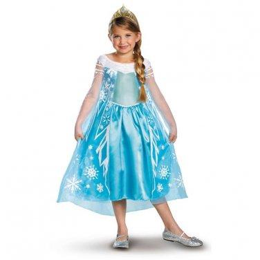 SZ 10-12 FROZEN ELSA DELUXE CHILD COSTUME SWWHC-DI56998