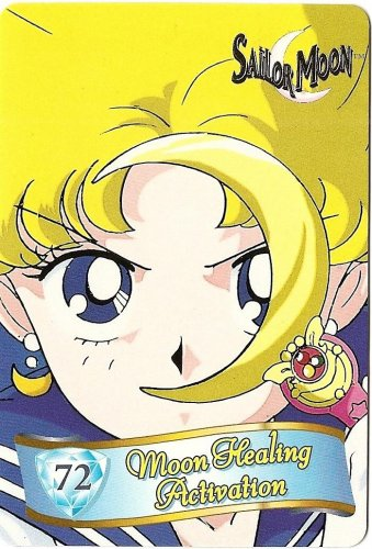 Sailor Moon Cardzillion Series 2 Card 72