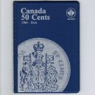 Uni-Safe Canada 50 Cents Coin Album Folder 1984-Date