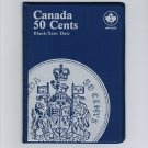 Uni-Safe Canada 50 Cents Coin Album Folder Blank/No Date